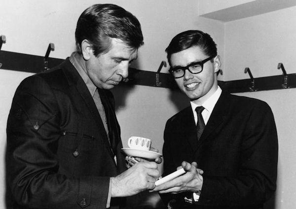 Toten Bjørn og Buck Owens fra Njårdhallen -69