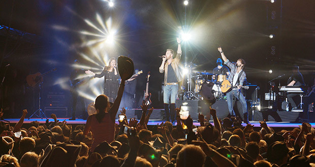 Lady Antebellum owned the nights i Skandinavia