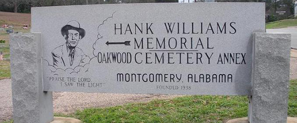 Hank Williams Memorial - Montgomery, Alabama