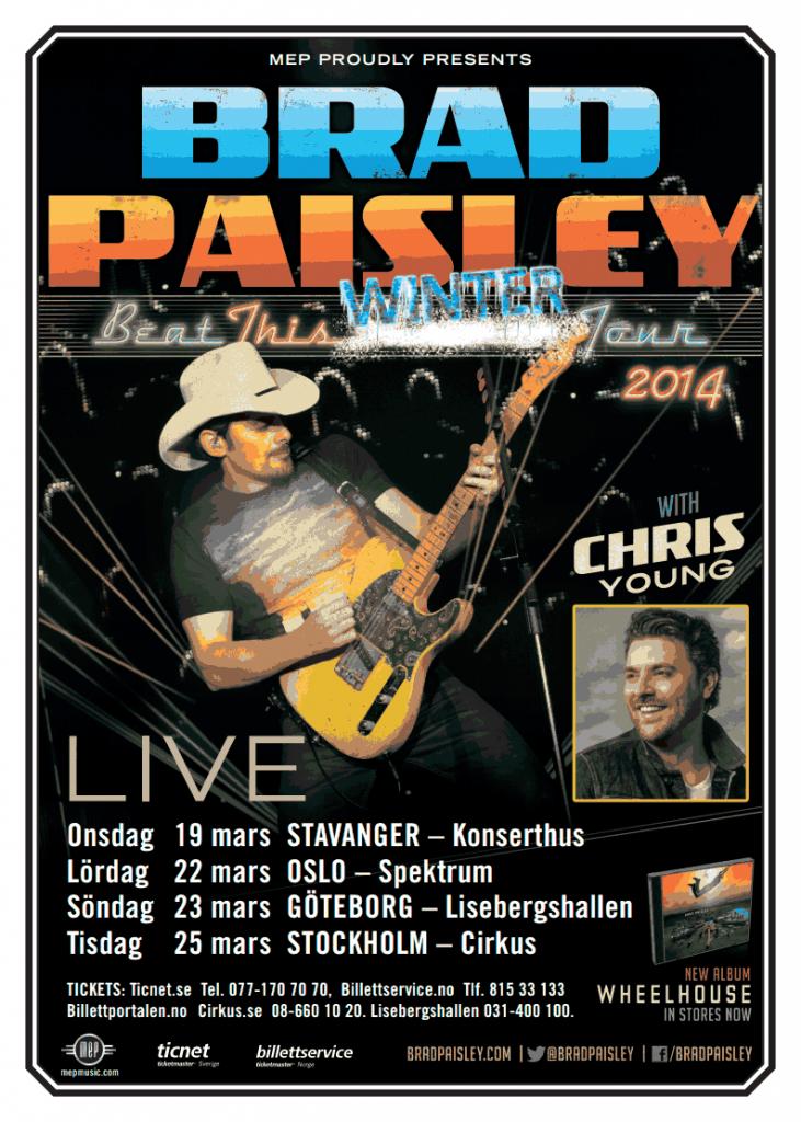 Brad Paisley Flyer