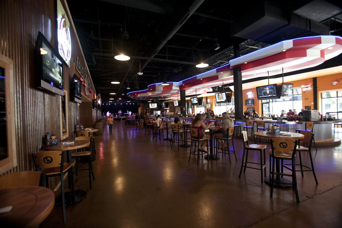 Interiör från baren i Folsom, CA