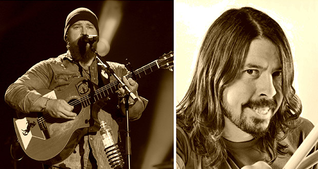 Dave Grohl + Zac Brown Band = Sant!