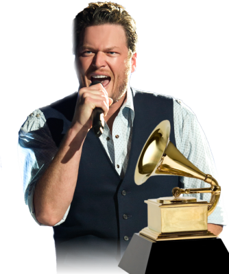 Blake Shelton er nominert til Grammy