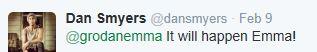 Dan Smyers Twitter