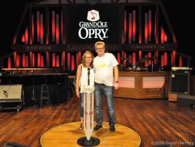 Debuten på Grand Ole Opry