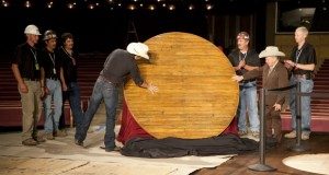Grand Ole Opry Circle of wood