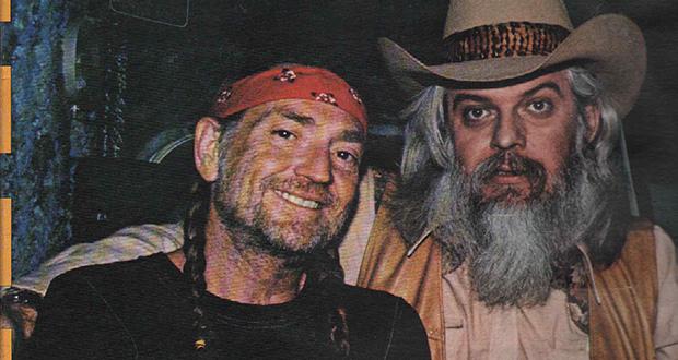 Willie Nelson og Leon Russell