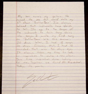 Eric Church-Letter1
