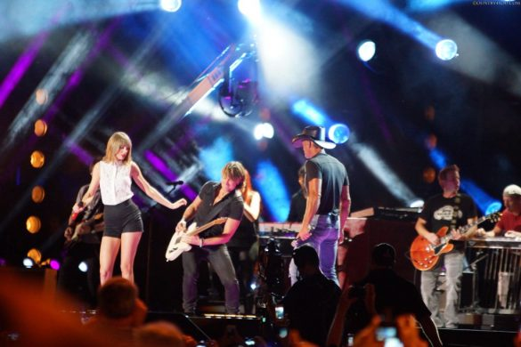 Taylor Swift, Keith Urban og Tim McGraw