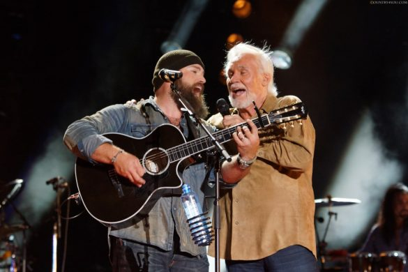 Zac Brown og Kenny Rogers