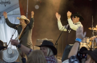 Steff Nevers – Wayne Law - Countryfestivalen Seljord 2015