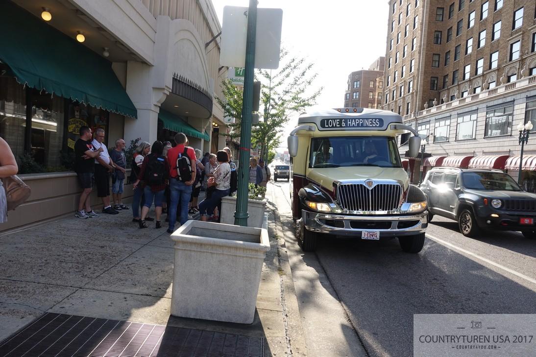 Busstur i Memphis
