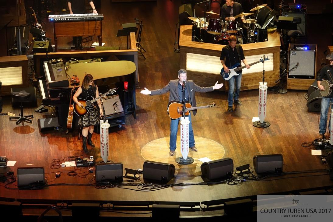 Grand Ole Opry, Nashville - Blake Shelton